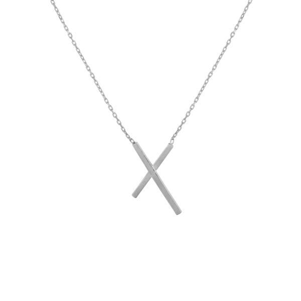 - CROSSY NECKLACE