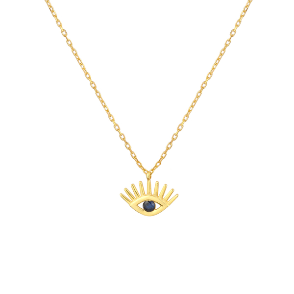 - EVIL EYE NECKLACE