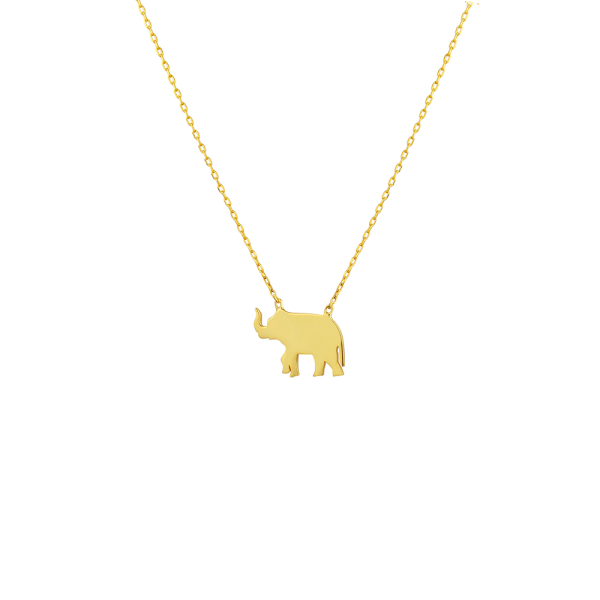 - STRENGTH ELEPHANT NECKLACE