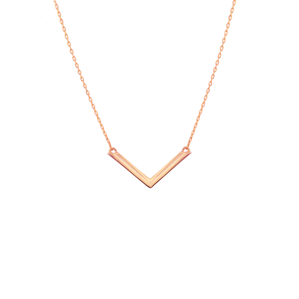 - INSPIRED V NECKLACE