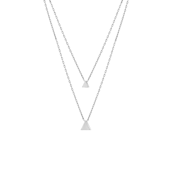 - LIFE TRIANGLE NECKLACE