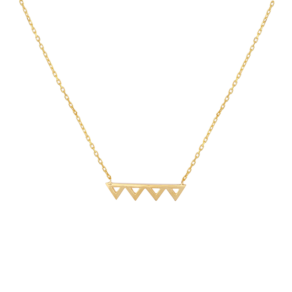 FRIENDS ZIG ZAG NECKLACE
