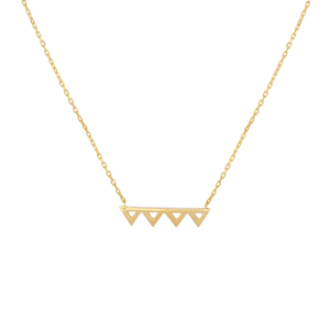 FRIENDS ZIG ZAG NECKLACE - Thumbnail