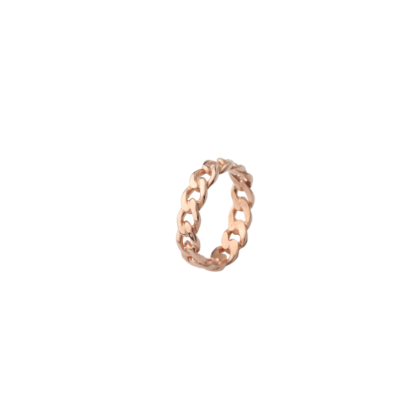 - MEDIUM SIZE ROSEGOLD CHAIN RING (1)