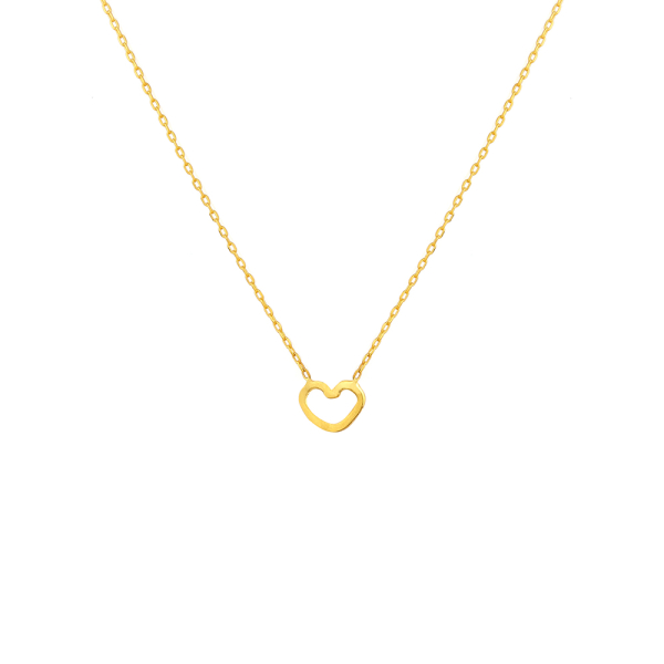 - LOVE HEART NECKLACE