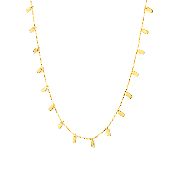- BAGUETTE NECKLACE