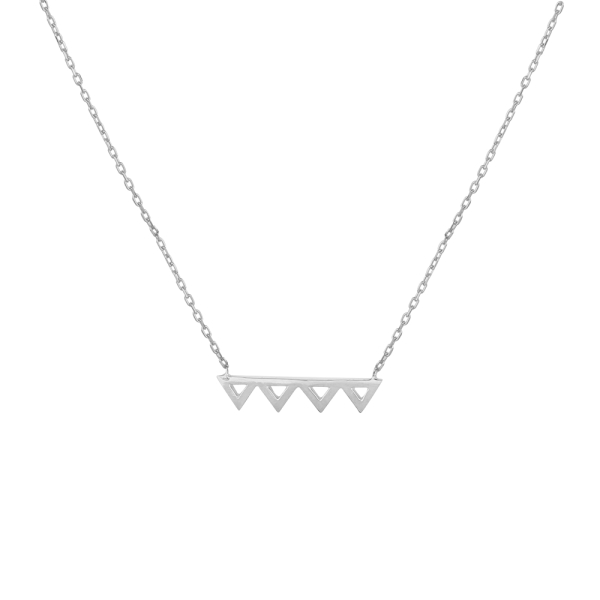 - FRIENDS ZIG ZAG NECKLACE
