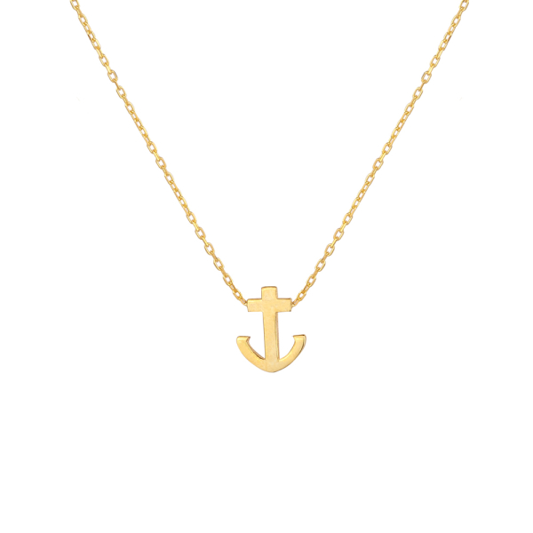 - REFLECTIONS ANCHOR NECKLACE
