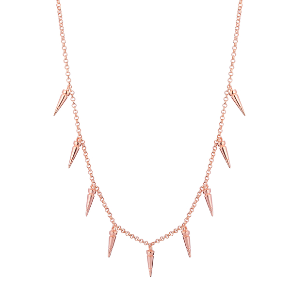 - SPIKE NECKLACE