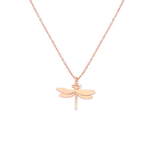 - TRANSFORMATION DRAGONFLY NECKLACE