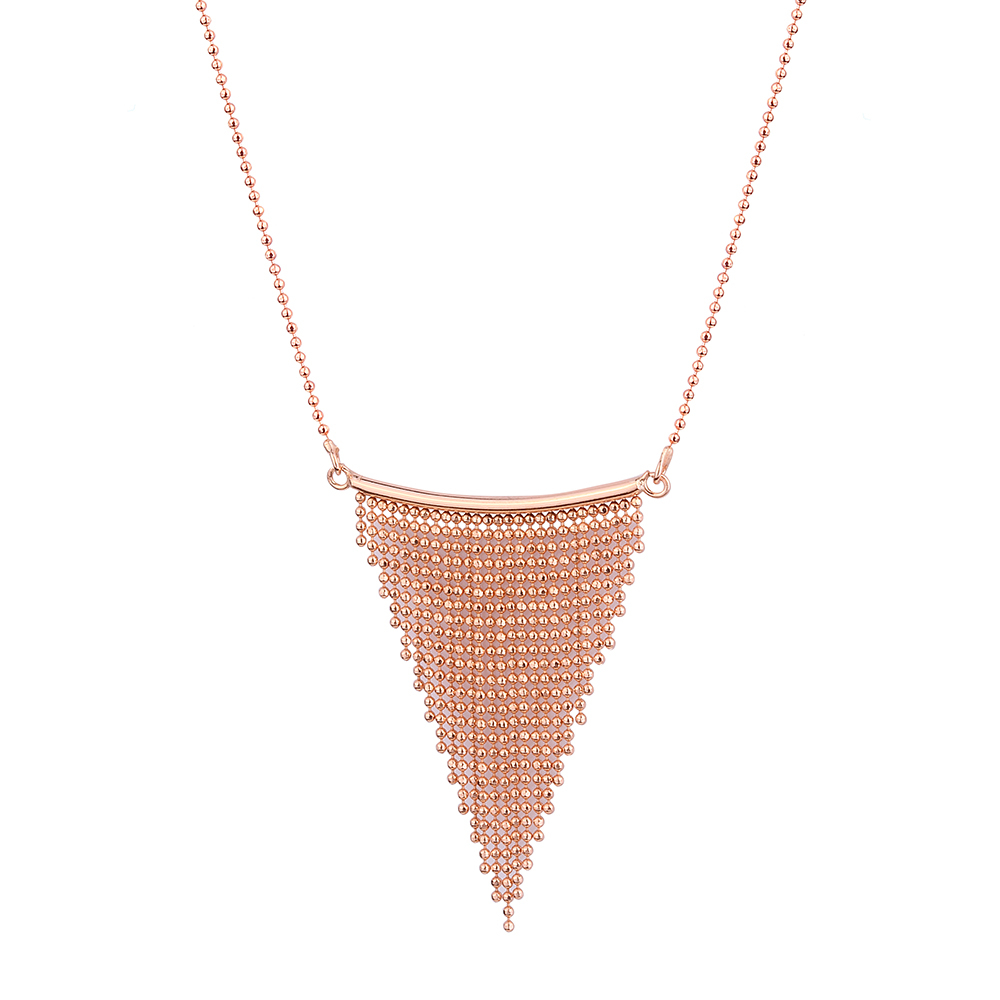 TRIA TASSEL NECKLACE