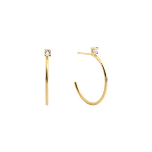 - AMBRACIA HOOP EARRINGS