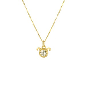 ARIES ZODIAC NECKLACE - Thumbnail