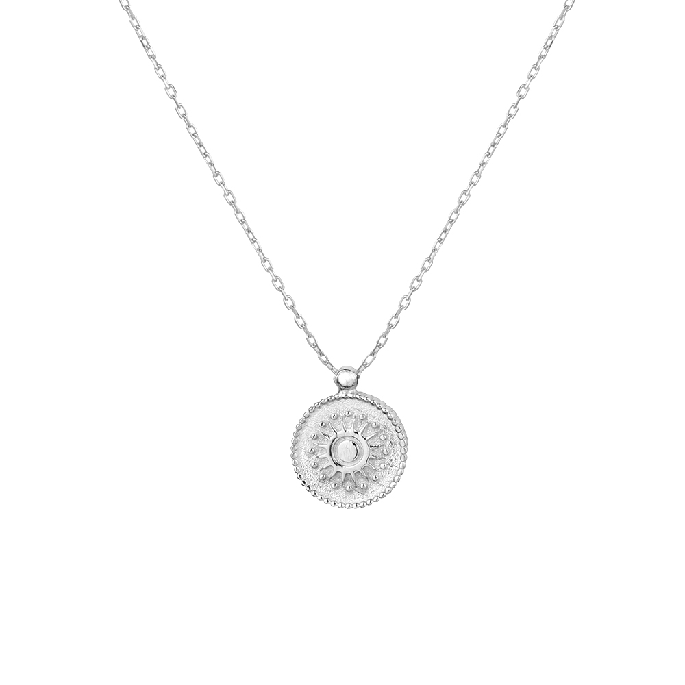 BEAUTY OF LIFE MEDALLION NECKLACE