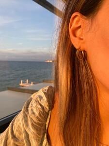 BIANCA HOOP EARRINGS - Thumbnail (2)