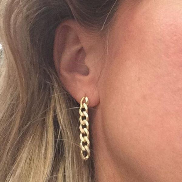 - RETRO CHAIN GOLD EARRINGS (1)