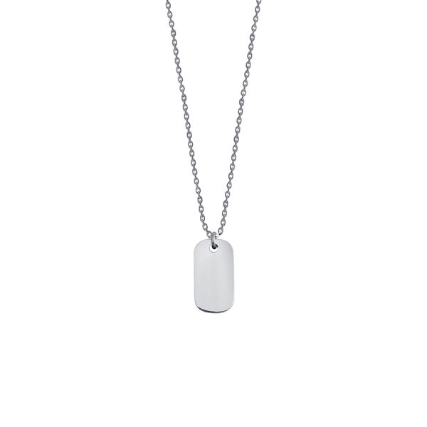 - TAG NECKLACE