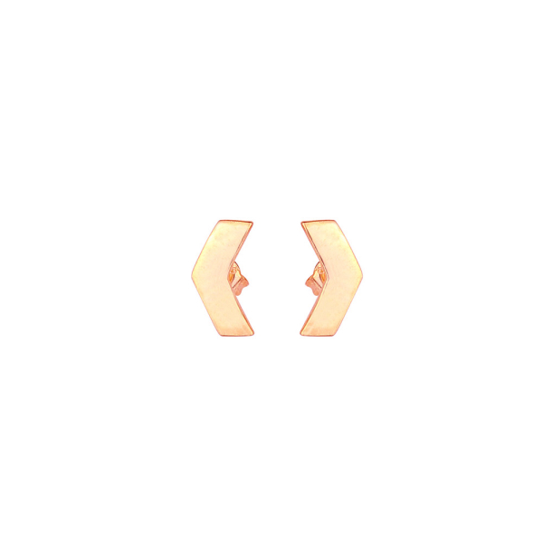 - CHEVRON FOLLOW STUDS EARRING