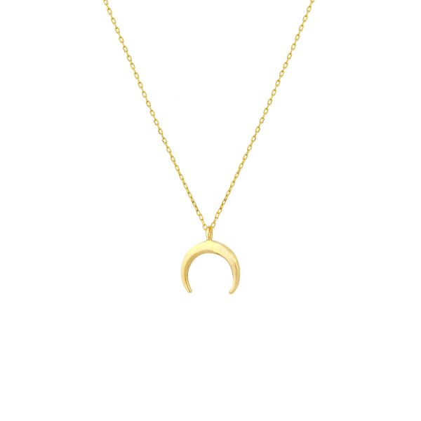- COURAGE MOON NECKLACE