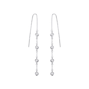 - DECO CHAIN EARRINGS