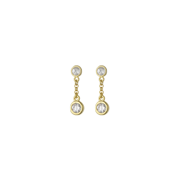 - DECO MIDI EARRINGS