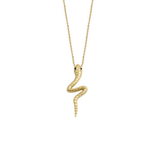 - DIANA SNAKE NECKLACE