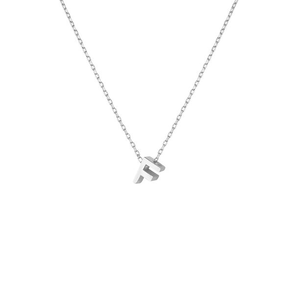- F INITIAL NECKLACE