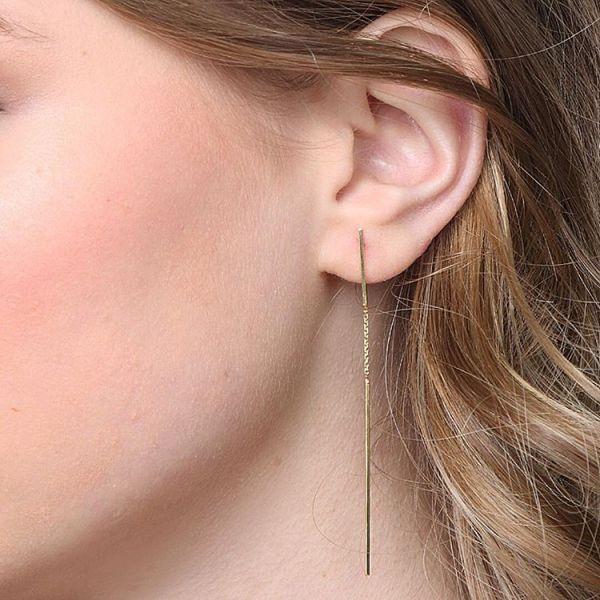 FINE LINE EARRINGS