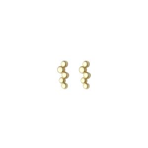 - FIVE BALL EARRINGS