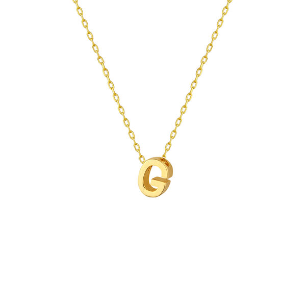 - G INITIAL NECKLACE