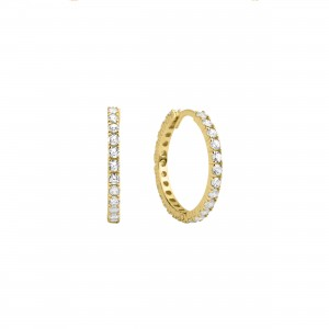 - GINA HOOP EARRINGS