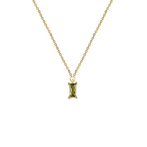 - GREEN CLARA NECKLACE