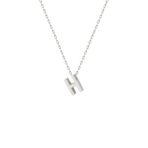 - H INITIAL NECKLACE
