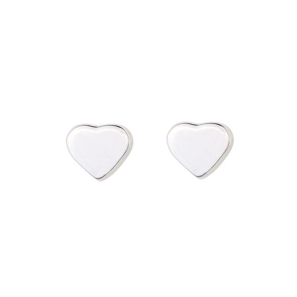 - HEART STUDS EARRINGS