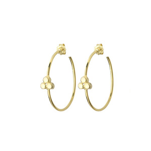 - HOOP TRIA EARRINGS