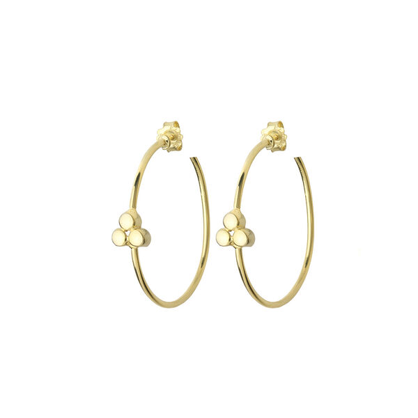HOOP TRIA EARRINGS