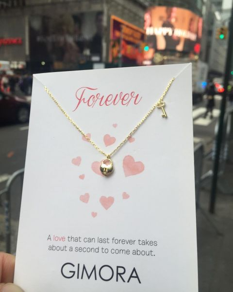 - FOREVER LOCK AND HEART NECKLACE (1)