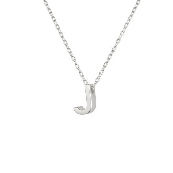 - J INITIAL NECKLACE