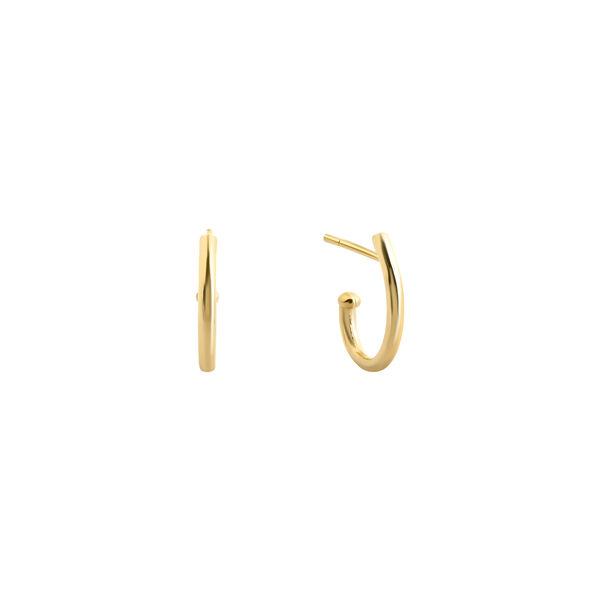- J HOOP EARRINGS