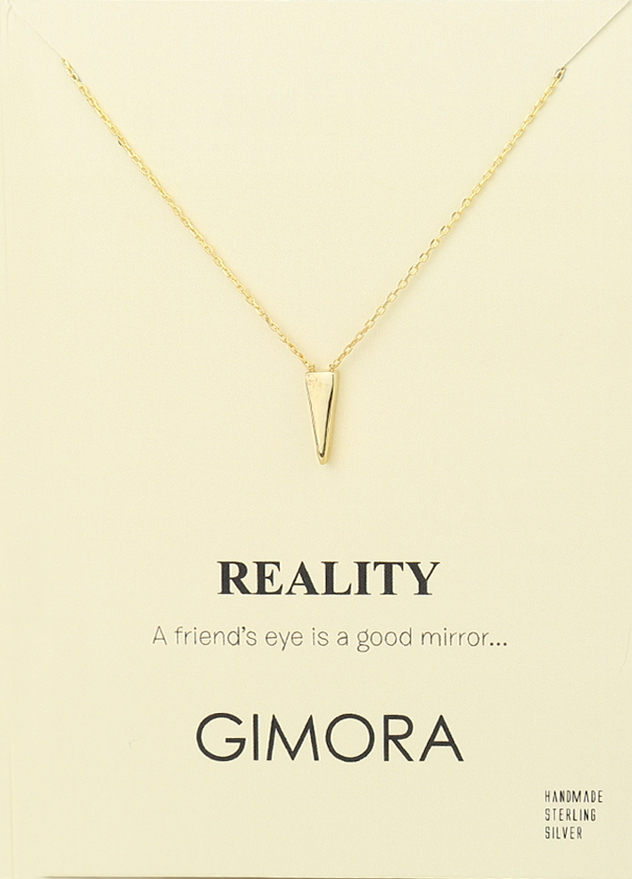REALITY WEDGE NECKLACE