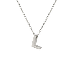 - L INITIAL NECKLACE