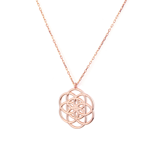 - LOTUS NECKLACE