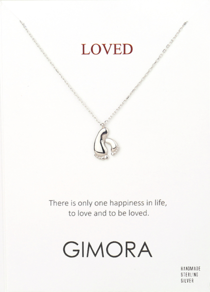 LOVED MOM&BABY NECKLACE - Thumbnail (2)