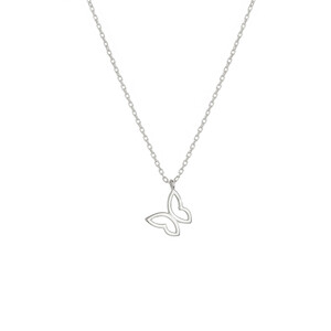 - LUCKY YOU BUTTERFLY NECKLACE