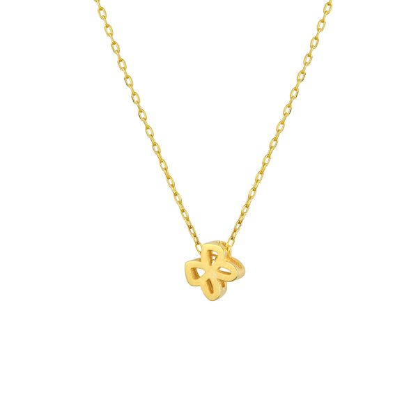- LUCKY YOU MINI BUTTERFLY NECKLACE