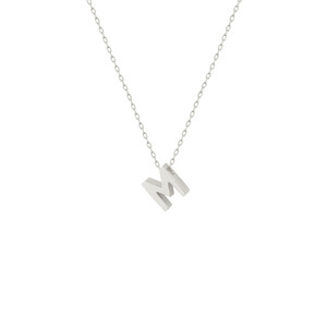 - M INITIAL NECKLACE