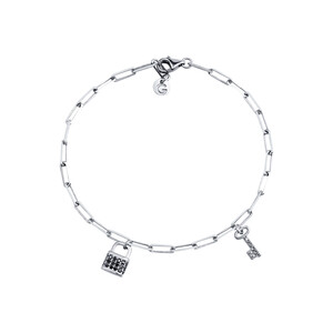 - MADISON LOCK & KEY BRACELET