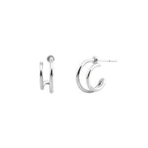 - MAYA HOOP EARRINGS