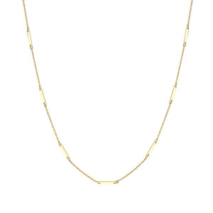 - MIDI THIN BAR NECKLACE
