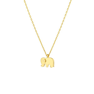 - MINI ELEPHANT NECKLACE
